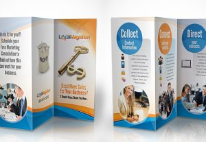 Brochure and leaflet design