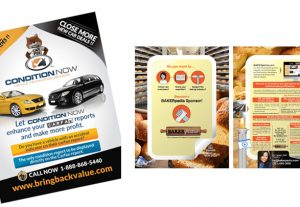 Flyer and poster design