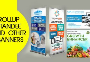 Standee or banner Design