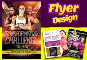 I will creative amazing FLYER DESIGN
