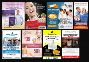 I will design professional print ad